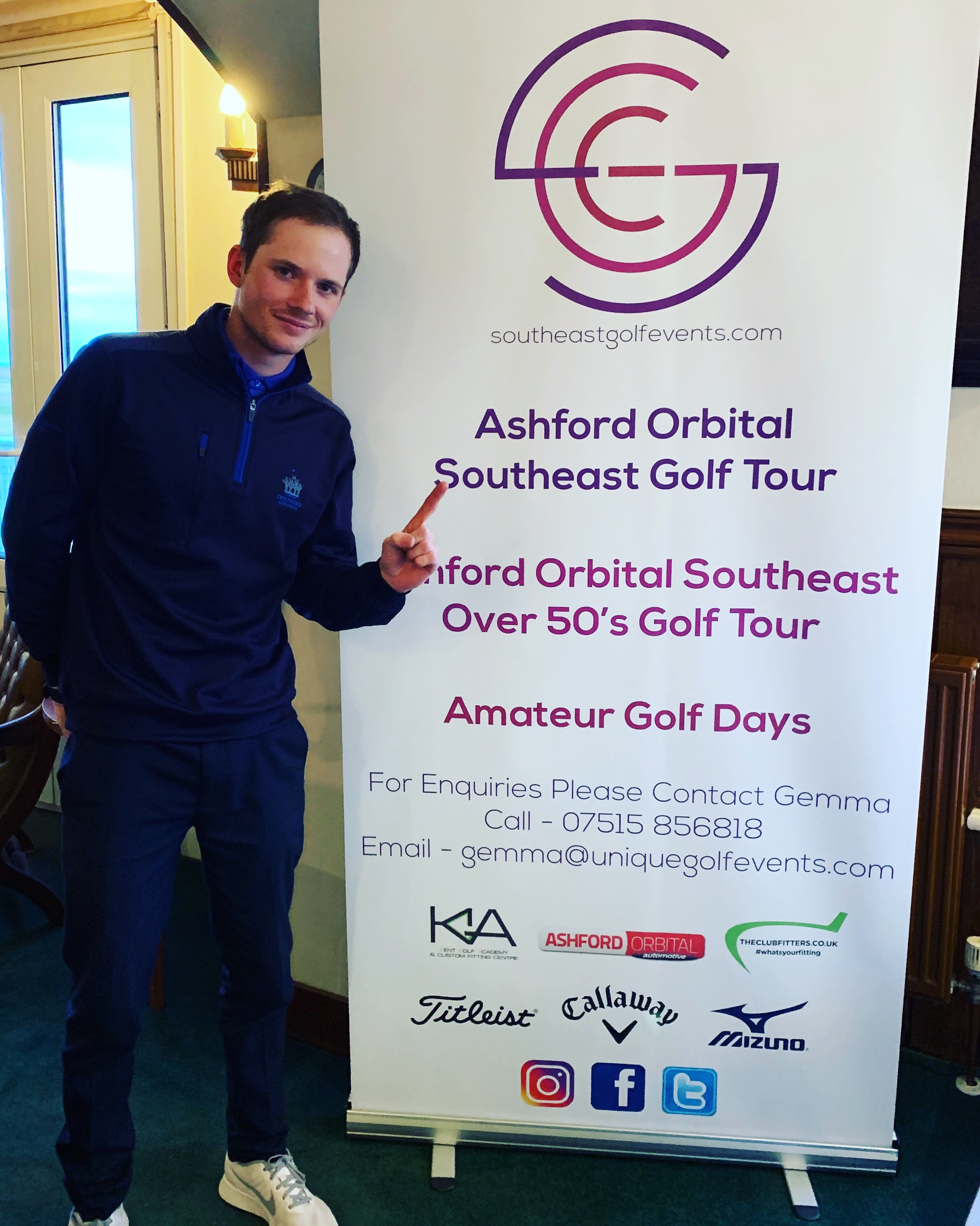 southeast golf tour royal cinque ports winner